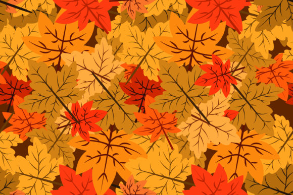 Download Free Autumn Seamless Pattern Graphic By Sabavector Creative Fabrica for Cricut Explore, Silhouette and other cutting machines.