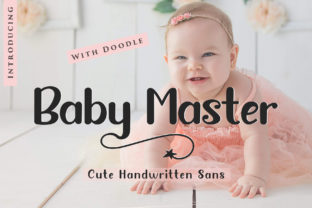 Baby Master Font By Sulthan Studio