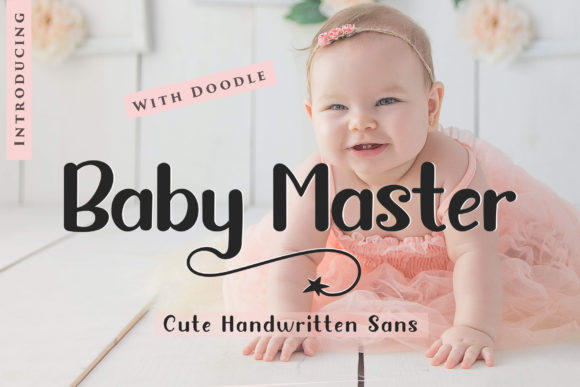 Print on Demand: Baby Master Sans Serif Font By Sulthan Studio
