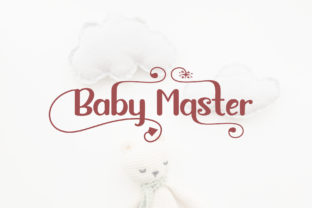 Print on Demand: Baby Master Sans Serif Font By Sulthan Studio 8