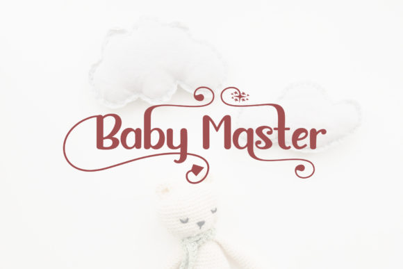 Baby Master Font By Sulthan Studio Image 8