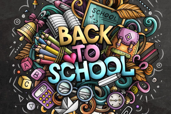 Back to School Doodles Graphic Illustrations By BalabOlka