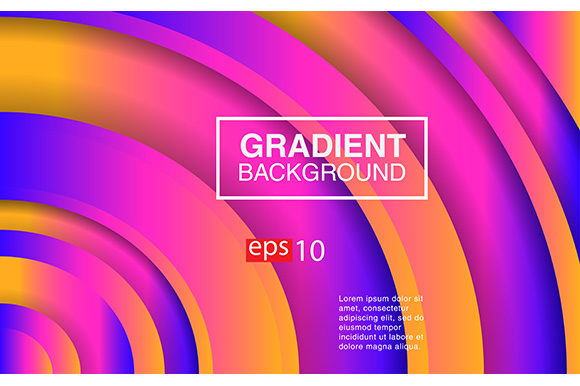 Background Radial Gradient Design Banner Graphic Backgrounds By apple - Image 1