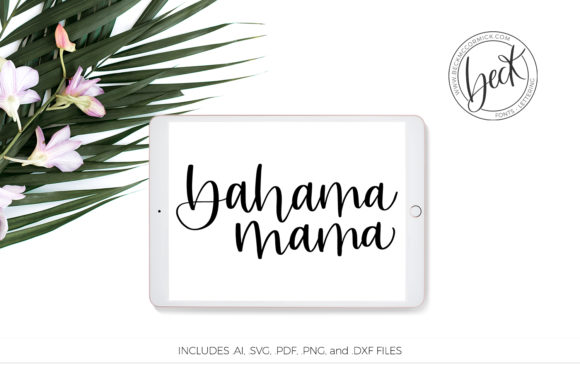 Print on Demand: Bahama Mama Graphic Crafts By BeckMcCormick