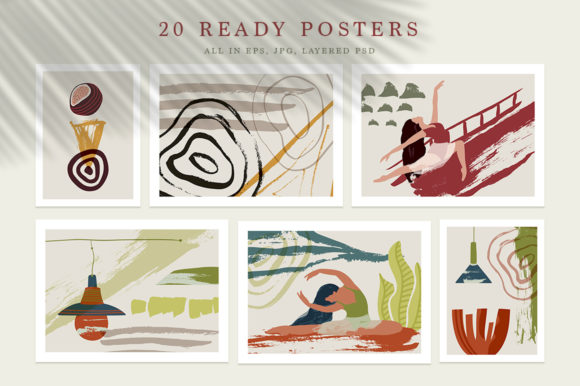 Ballet Abstract Graphic Bundle Graphic By Red Ink Image 3
