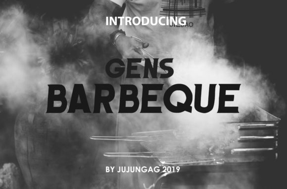 Print on Demand: Barbeque Sans Serif Font By Gens Creatif Store