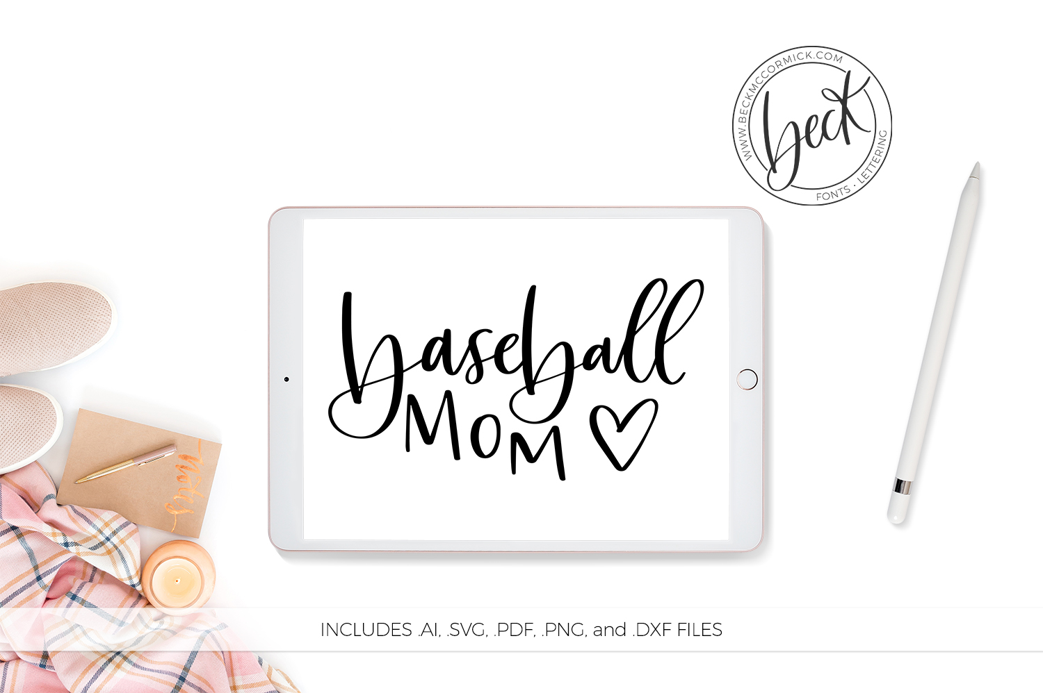 Download Free Baseball Mom Graphic By Beckmccormick Creative Fabrica for Cricut Explore, Silhouette and other cutting machines.