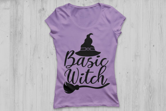 Download Free Basic Witch Graphic By Cosmosfineart Creative Fabrica for Cricut Explore, Silhouette and other cutting machines.
