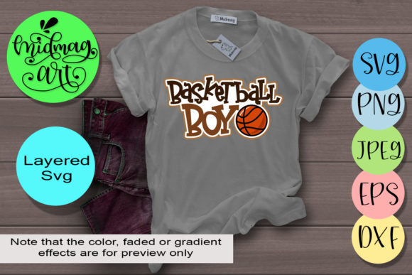 Download Free Basketball Boy Graphic By Midmagart Creative Fabrica for Cricut Explore, Silhouette and other cutting machines.