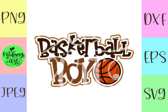 Download Free Basketball Boy Graphic By Midmagart Creative Fabrica SVG Cut Files