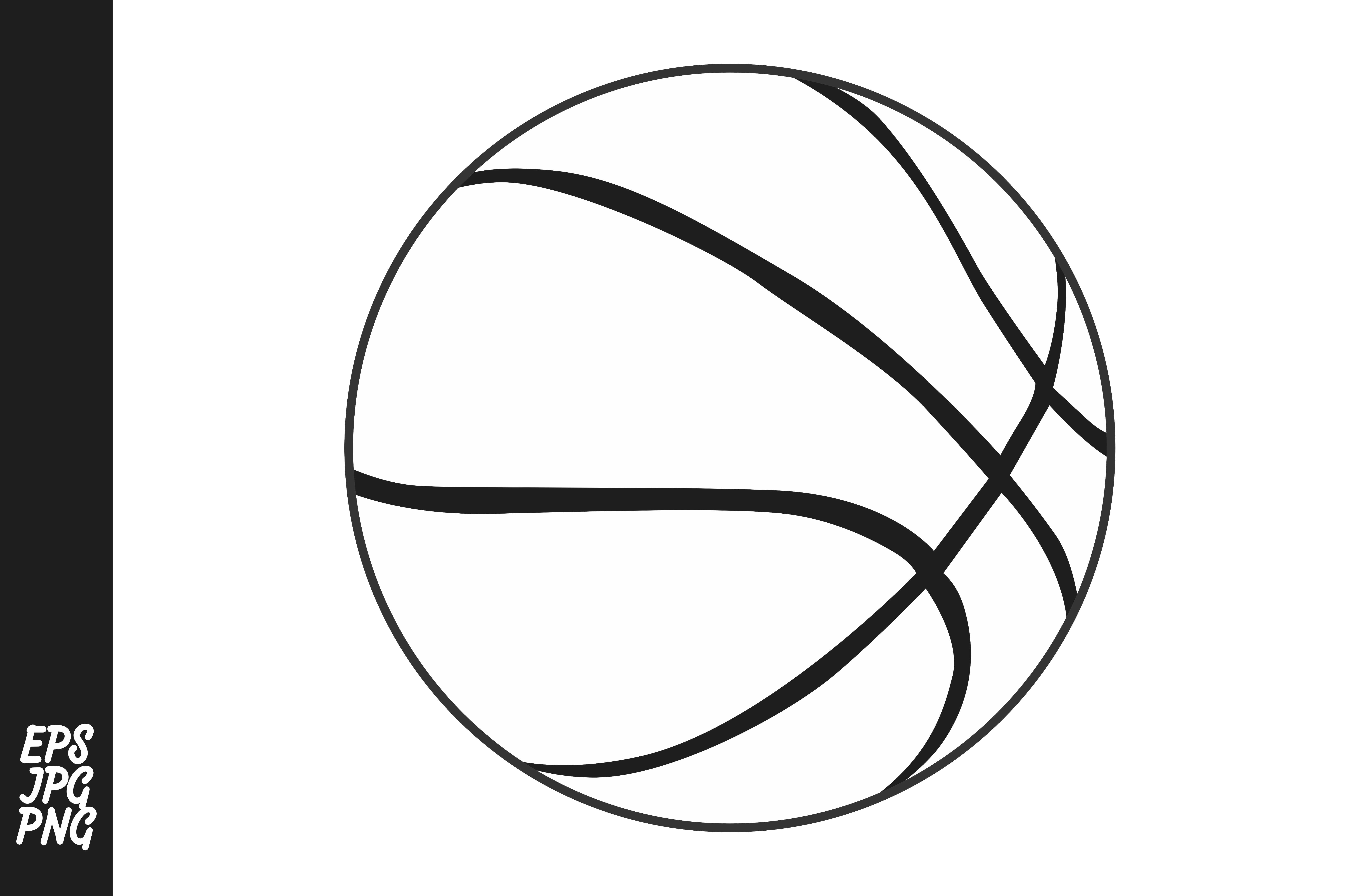 Basketball Vector PNG