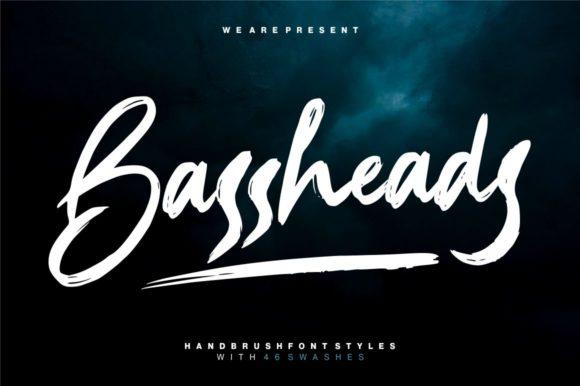 Print on Demand: Bassheads Display Font By Garisman Studio