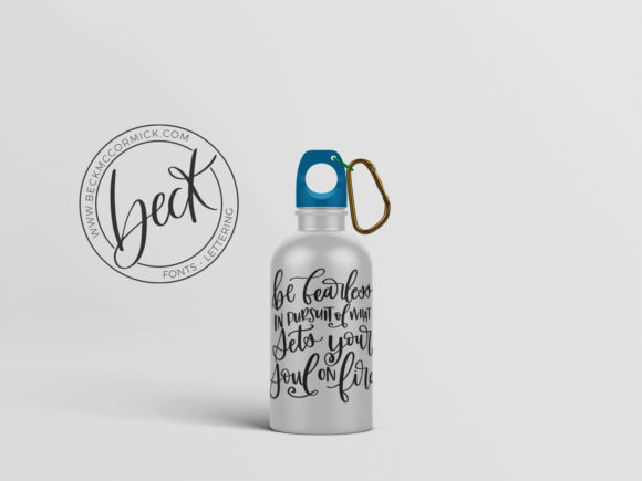 Print on Demand: Be Fearless in Pursuit Graphic Crafts By BeckMcCormick