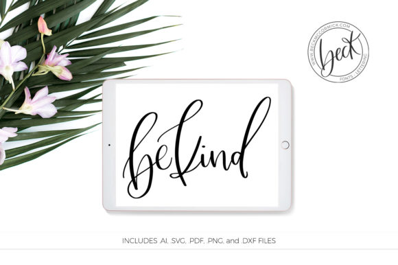 Print on Demand: Be Kind Graphic Crafts By BeckMcCormick