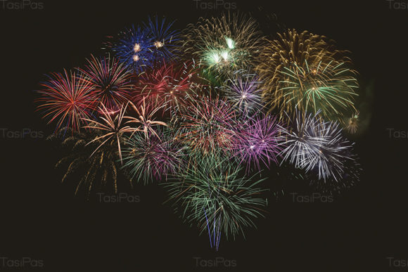 Beautiful Celebration Firework Graphic By TasiPas