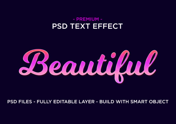 Print on Demand: Beautiful Premium PSD Text Style Effect Graphic Layer Styles By eddyinside