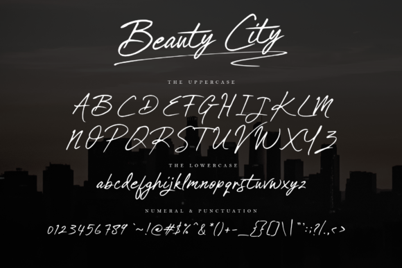 Print on Demand: Beauty City Script & Handwritten Font By Typia Nesia - Image 6