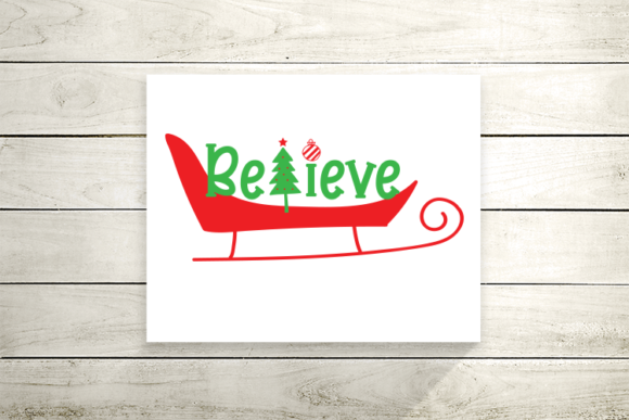 Believe Christmas Graphic Crafts By carrtoonz