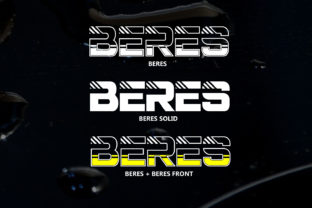 Beres Font By da_only_aan