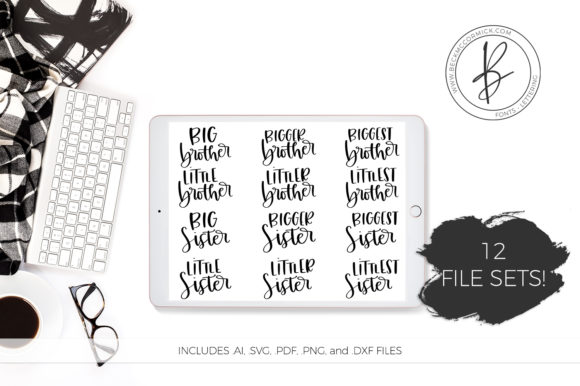 Download Free Big Bigger Biggest Graphic By Beckmccormick Creative Fabrica for Cricut Explore, Silhouette and other cutting machines.