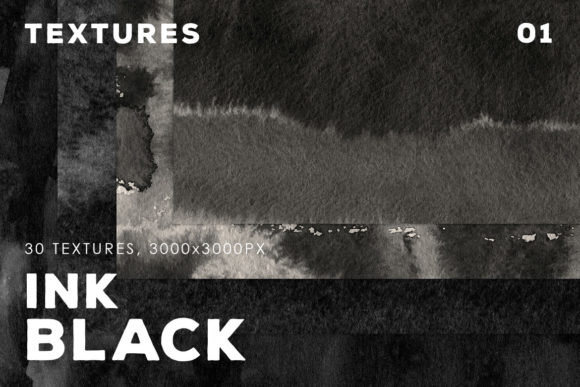 Download Free Black Ink Textures Vol 1 Graphic By Artistmef Creative Fabrica for Cricut Explore, Silhouette and other cutting machines.