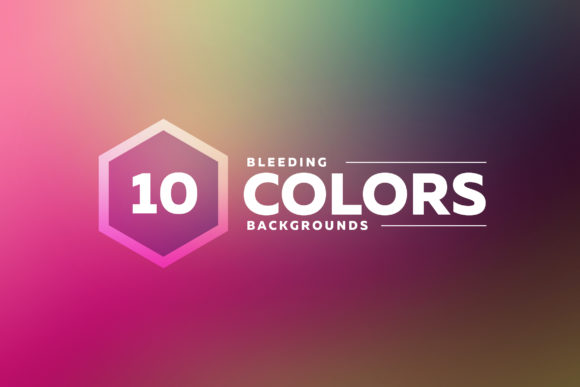 Bleeding Colors Backgrounds Graphic Backgrounds By Shemul