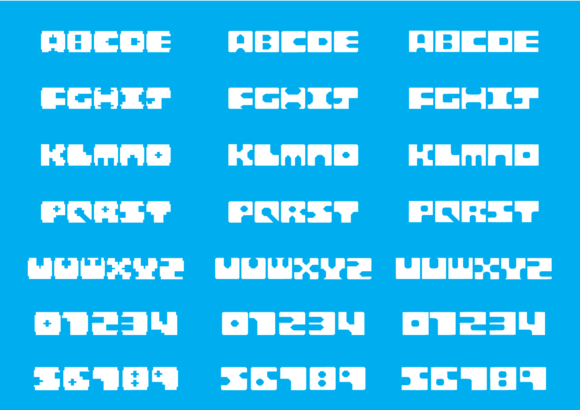 Print on Demand: Block Display Font By GraphicsBam Fonts - Image 2