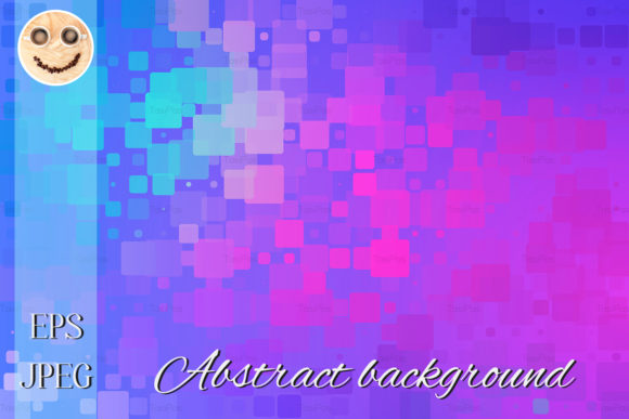 Print on Demand: Blue Purple Magenta Pink Turquoise Graphic Illustrations By TasiPas