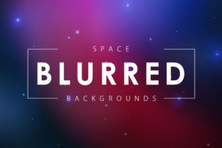 Blurred Space Backgrounds Graphic By ArtistMef