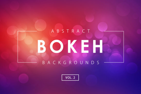 Print on Demand: Bokeh Effect Backgrounds 2 Graphic Backgrounds By ArtistMef