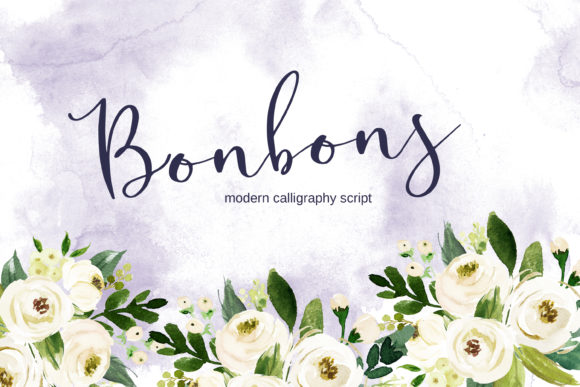 Print on Demand: Bonbons Script & Handwritten Font By Primafox Design