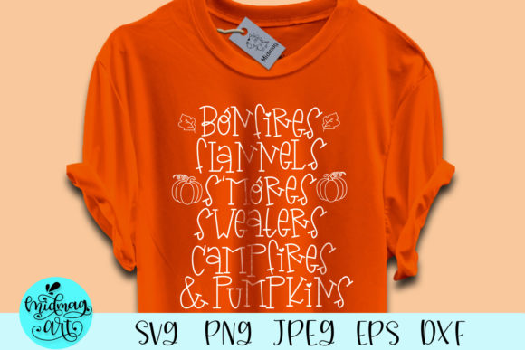 Download Free Bonfires Flannels S Mores Sweaters Graphic By Midmagart for Cricut Explore, Silhouette and other cutting machines.