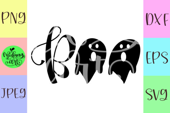 Boo Halloween Graphic Objects By MidmagArt - Image 2