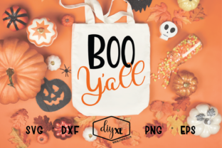 Boo Y'all Graphic By Sheryl Holst