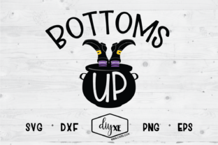 Bottoms Up Graphic By Sheryl Holst