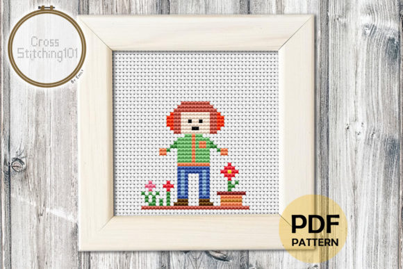 Download Free Omelette Modern Cross Stitch Pattern Graphic By for Cricut Explore, Silhouette and other cutting machines.