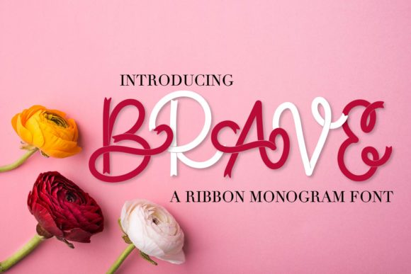 Brave Script & Handwritten Font By Justina Tracy