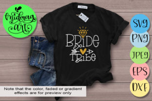 Download Free Bride Tribe Graphic By Midmagart Creative Fabrica for Cricut Explore, Silhouette and other cutting machines.