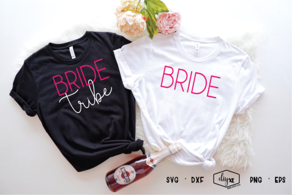 Bride Tribe Graphic By Sheryl Holst