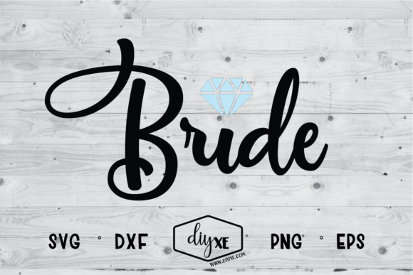 Bride Graphic By Sheryl Holst