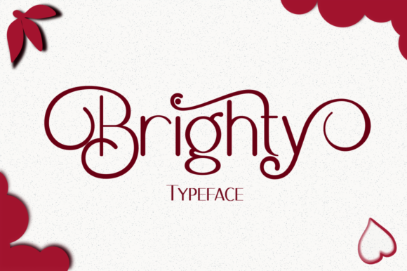 Print on Demand: Brighty Sans Serif Font By Syukursetiyadi - Image 1