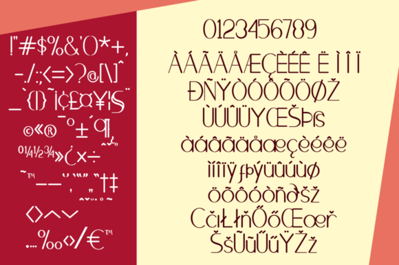 Print on Demand: Brighty Sans Serif Font By Syukursetiyadi - Image 9