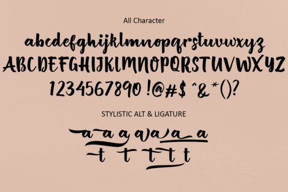 Print on Demand: British Script & Handwritten Font By zulkhairilettering - Image 6