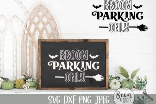 Broom Parking Only Halloween Graphic By Jessica Maike