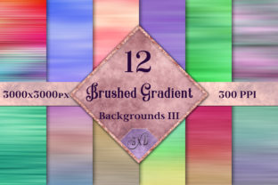 Brushed Gradient Backgrounds III Graphic By SapphireXDesigns