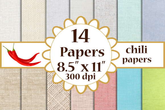 Burlap Digital Paper Burlap Papers A4 Graphic Crafts By ChiliPapers
