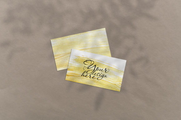 Print on Demand: Business Card Mockup Graphic Product Mockups By Natalia Arkusha
