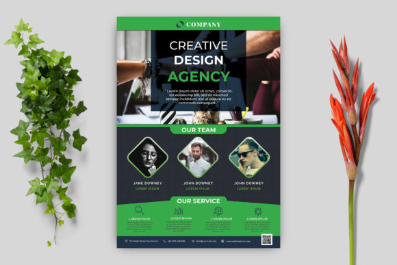 Business Flyer Template Graphic Print Templates By goku4501