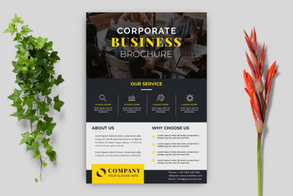 Business Flyer Graphic Print Templates By goku4501
