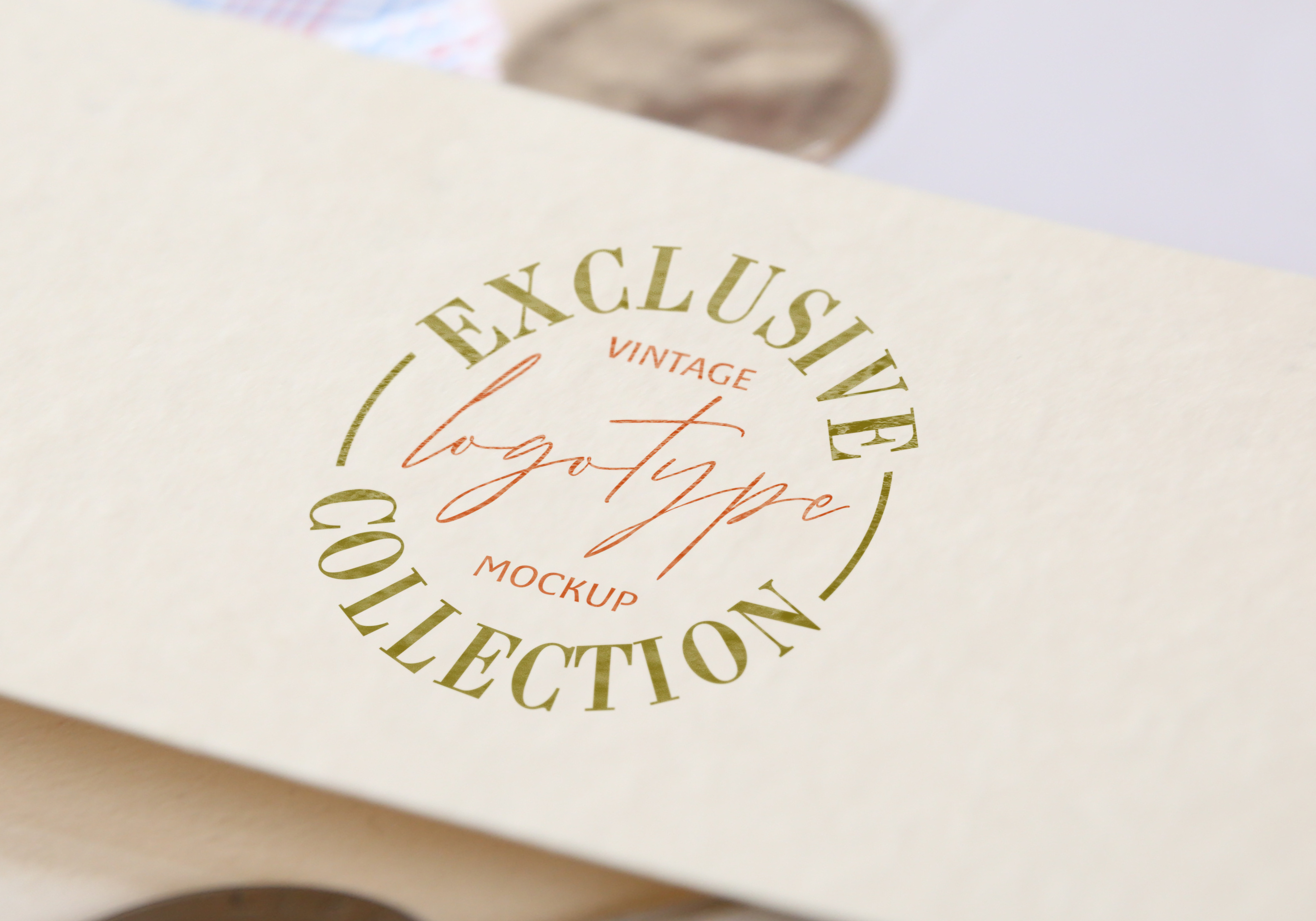 Download Free Business Card Template Mock Ups Graphic By Bywahtung Creative for Cricut Explore, Silhouette and other cutting machines.